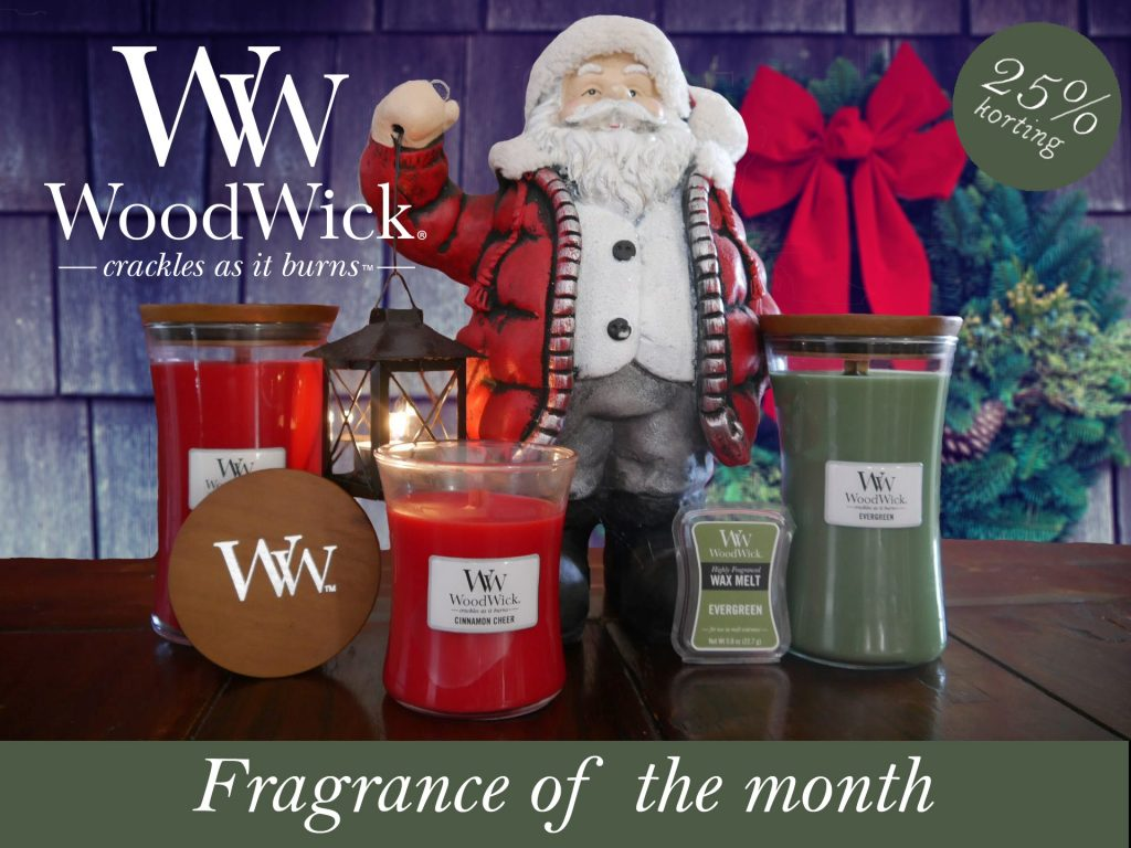 WoodWick Fragrance of the Month December
