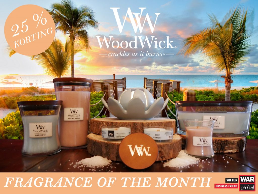 WoodWick Fragrance of the Month Maart